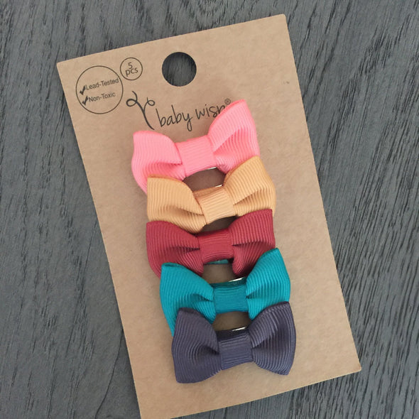 Small Snap Charlotte Bow Collection - Dear Diary - Baby Wisp