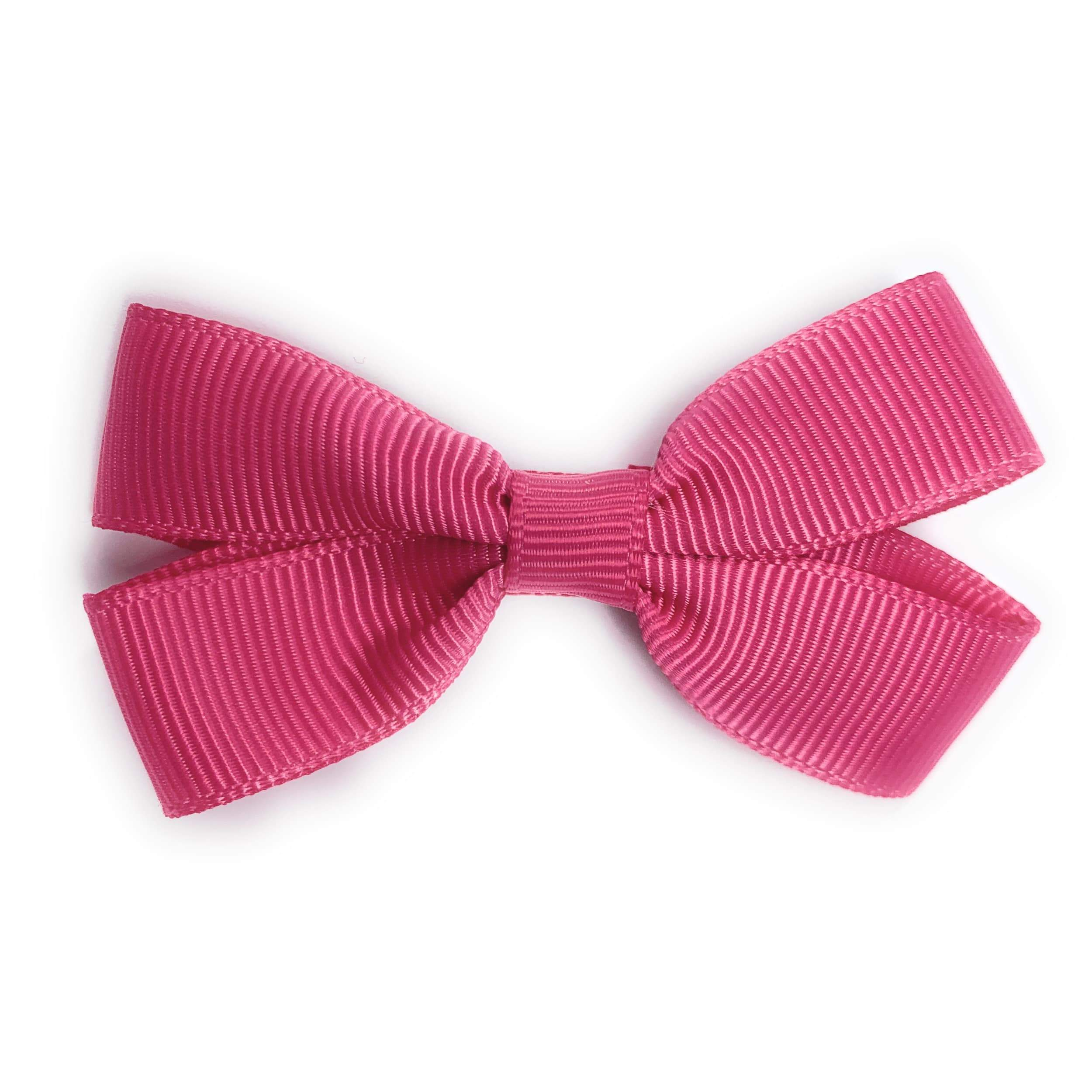 Special Occasion Accessories Leather Mini Pinch Bow hair bow