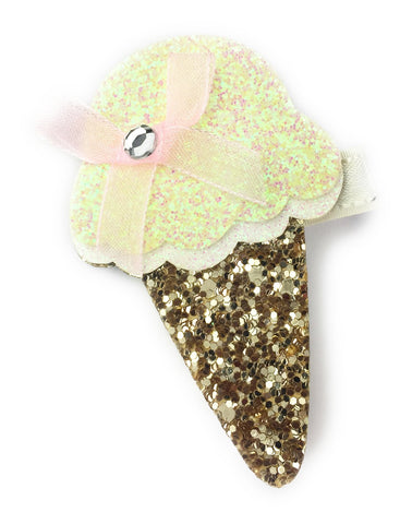 Sparkly Ice Cream Pinch Clip - Baby Wisp