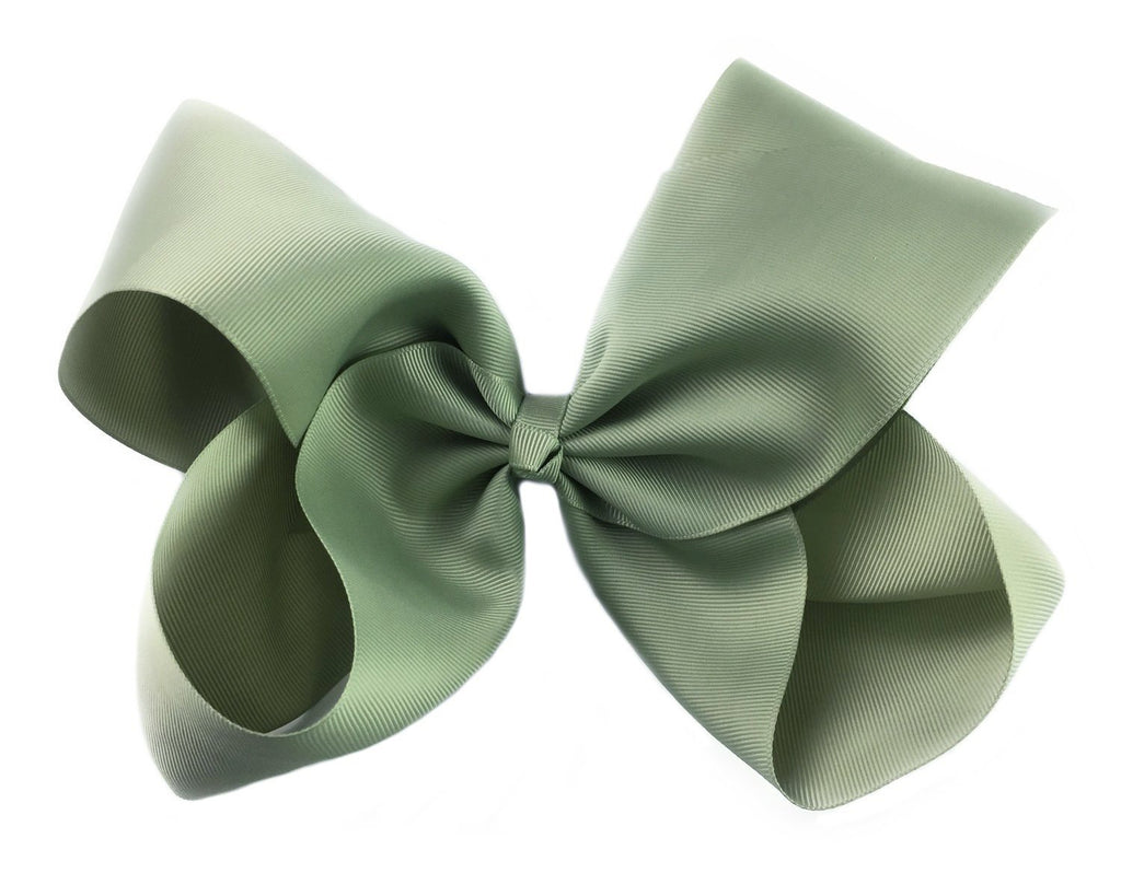 Sage Green Huge Big Boutique hairBow