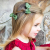 Alligator Clip Barrette Pair - Red - Baby Wisp