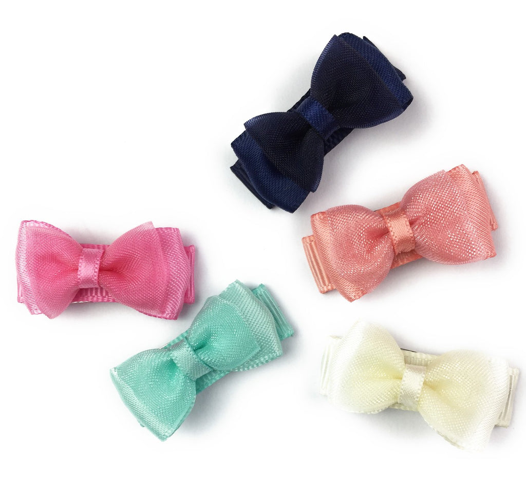 Small Snap Fancy Bows Collection - Picture Day - Baby Wisp