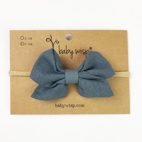 Kylie Bow Headbands - Baby Wisp