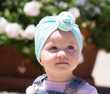 Infant Turban Knot Hat - Light Pink - Baby Wisp