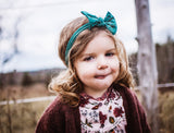 Nylon Bow Headband