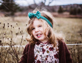 Nylon Bow Headband - Baby Wisp