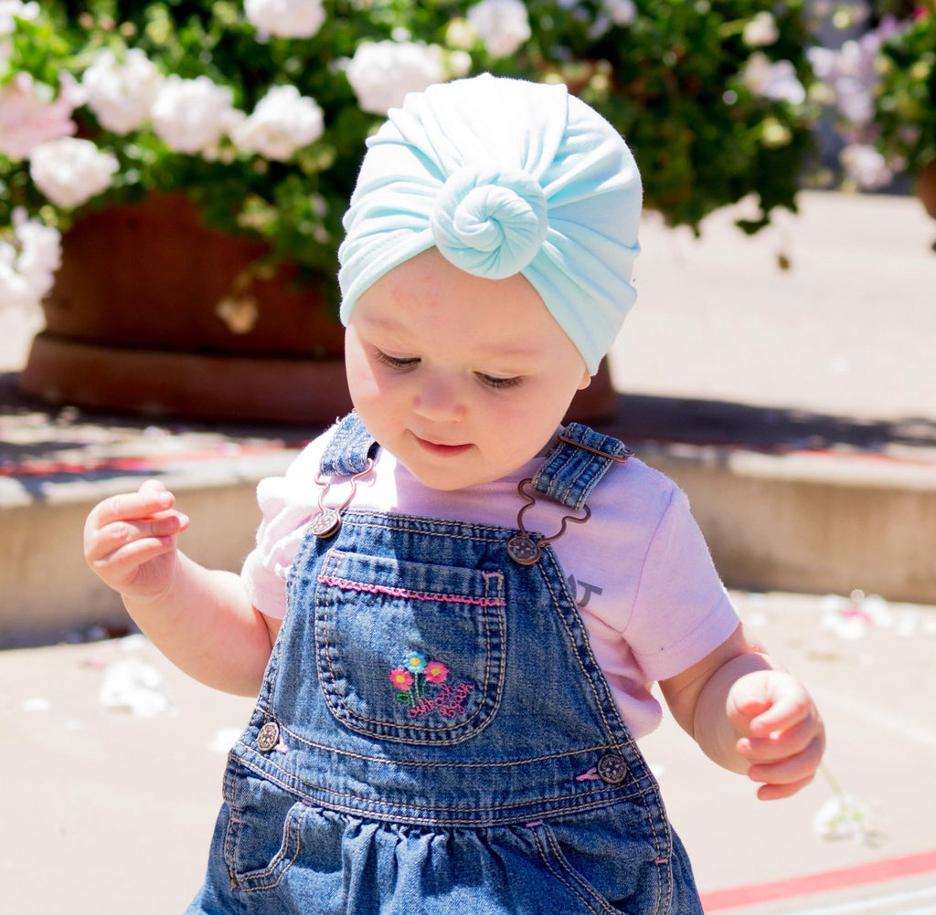 ... Infant Turban Knot Hat - Baby Wisp ... a5fd192a141