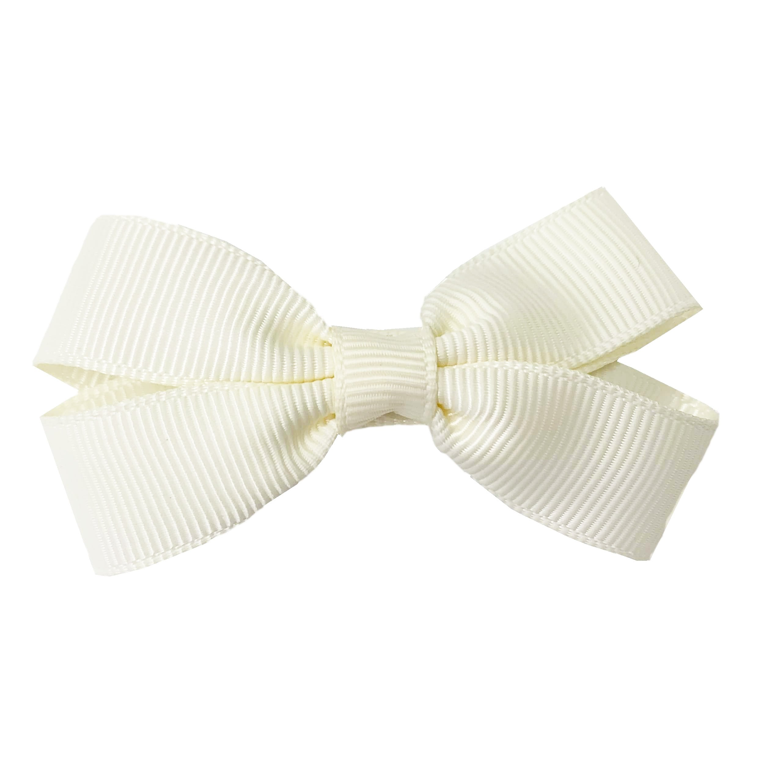 Card with mini bows Grosgrain ribbon alligator clip. 2 5 inch each bow for girls 4 colors