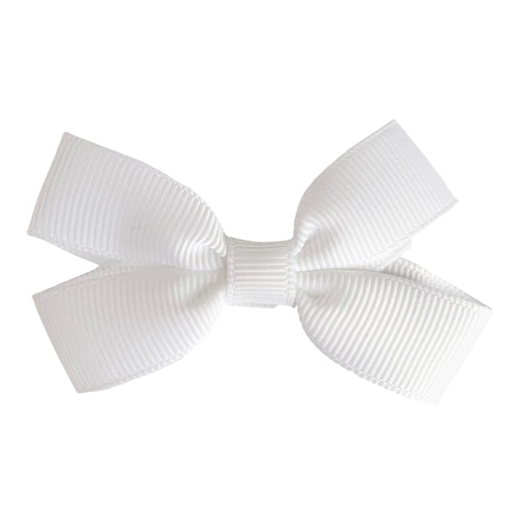 Sandra- Grosgrain Hair Bow- Alligator Hair Clip - Baby Wisp