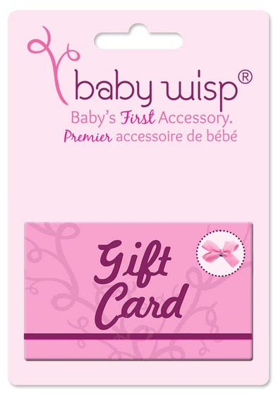 Gift Card for Baby Wisp® Products - Baby Wisp