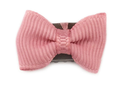 Mini Latch Clip Tiny Tuxedo Grosgrain Bow - Baby Wisp