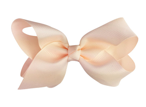Americana Bow Pinch Clip - Chantilly Rose - Baby Wisp