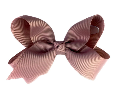 Americana Bow Pinch Clip - Antique Mauve - Baby Wisp