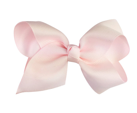 Americana Bow Pinch Clip - Pale Ballet Pink - Baby Wisp