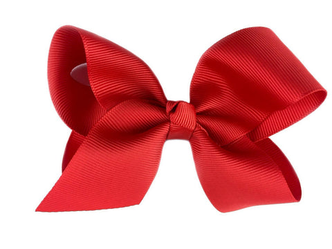 Americana Bow Pinch Clip - Red - Baby Wisp