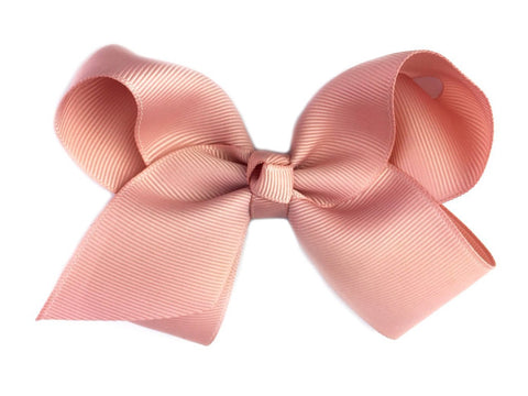 Americana Bow Pinch Clip - Rose Taupe - Baby Wisp