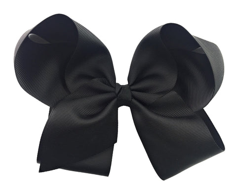 Nicki Bow Pinch Clip - Black