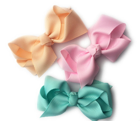 Bowtastic Bows Pinch Clip - Pastel Souffle - Baby Wisp