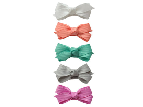 Small Snap Chelsea Boutique Bow - Buttercup - Baby Wisp