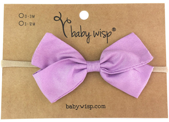 Emma Bow Infant Headbands - Baby Wisp