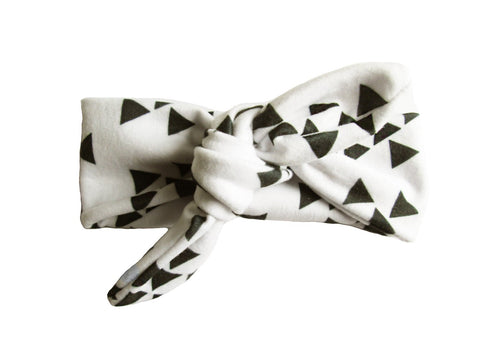 Top Knot Geometric Headband - Baby Wisp