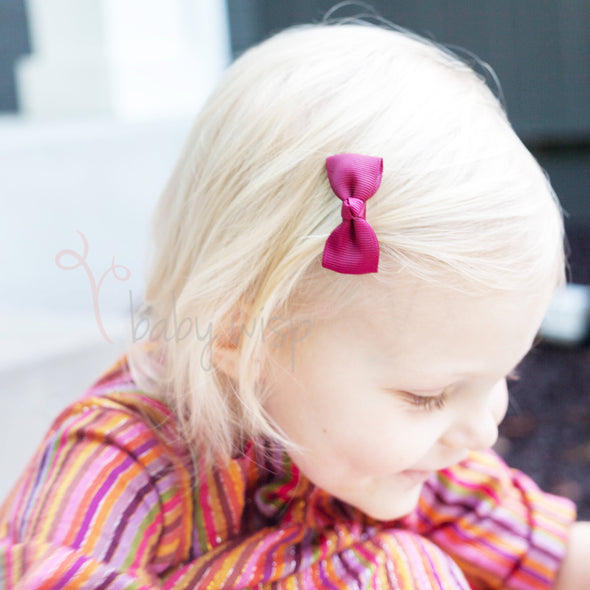 10 Diya Toddler HairBows - Fall into Autumn