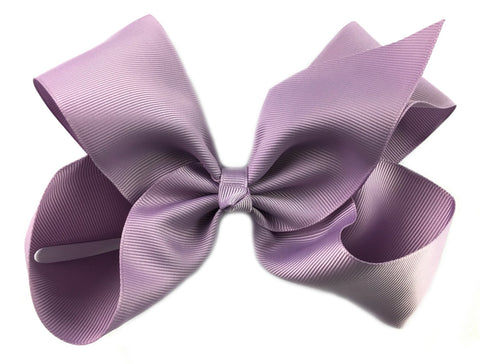 Nicki Bow Pinch Clip - Dusky Mauve