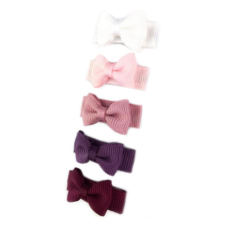 ab2bd346a842 ... Clips · Gift Sets · New · SALE · Small Snap Tuxedo Grosgrain Hair Bow  Collection - Bonfire - Baby Wisp