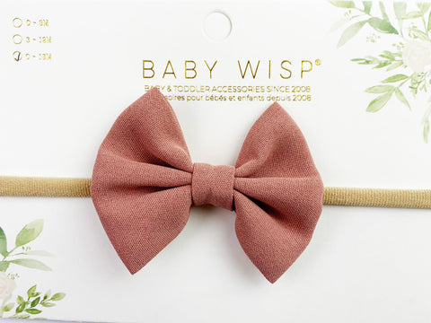 Infant Headband - Fanny Bow - Baby Wisp