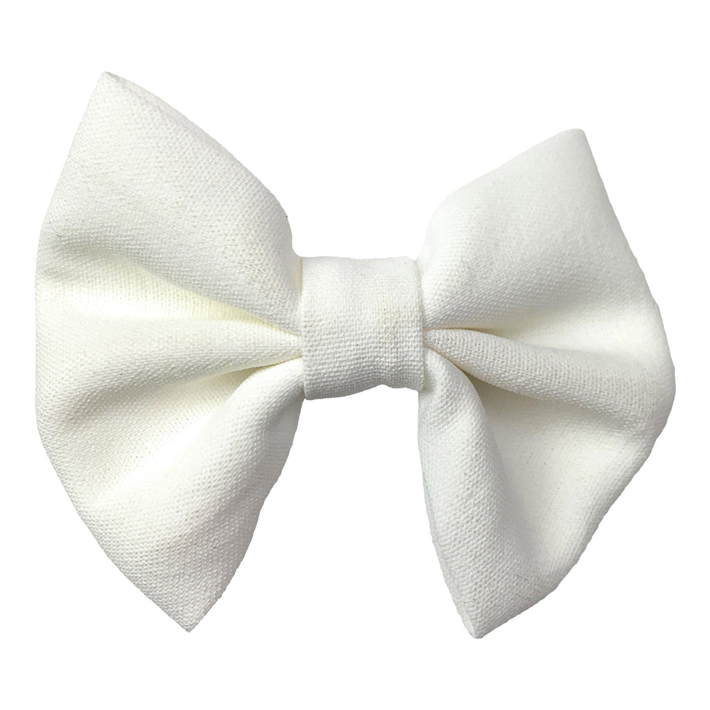 Fanny - Fabric Hair Bow Alligator Clip - Baby Wisp