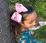 Nicki Bow Pinch Clip - Sparkle - Black - Baby Wisp