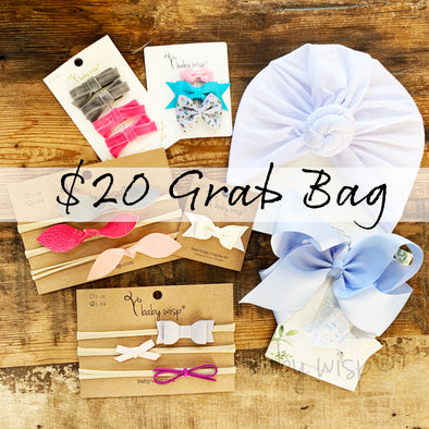 Surprise Grab Bag of Hair Accessories - Baby Wisp
