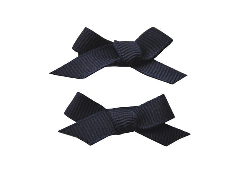 Hand Tied Bows - Navy - Baby Wisp