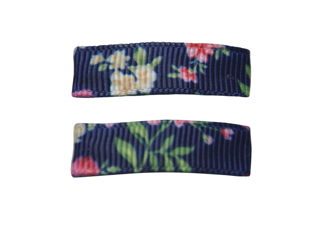 Handmade - Small Snap Urban Clip - Floral - Baby Wisp