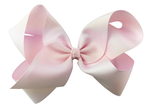 Nicki Bow Pinch Clip - Icy Pink
