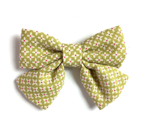 Oversized Fabric Bow Sailor Bow Girls Hair Bow