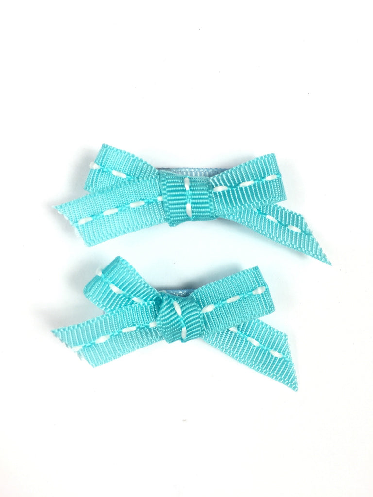 Turquoise Hair Bows For Girls