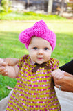 Knit Bow Headband - Baby Wisp