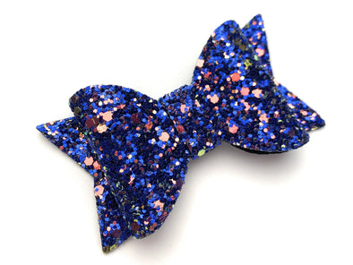 Pinch Clip - Courtney Sparkly Bow - Baby Wisp