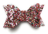 Toddler Wisp Clip - Courtney Sparkly Bow