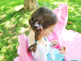 hair bows for girls can be worn in braids