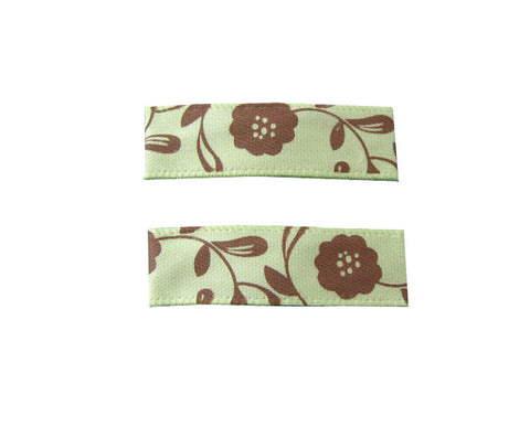 Little Girl Urban Tan Flowers - Baby Wisp