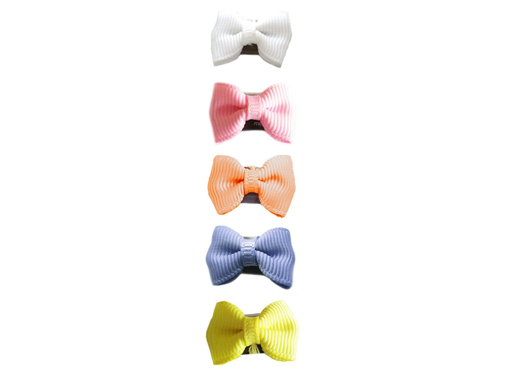 Mini Latch Hair Bow Spring Collection - Baby Wisp