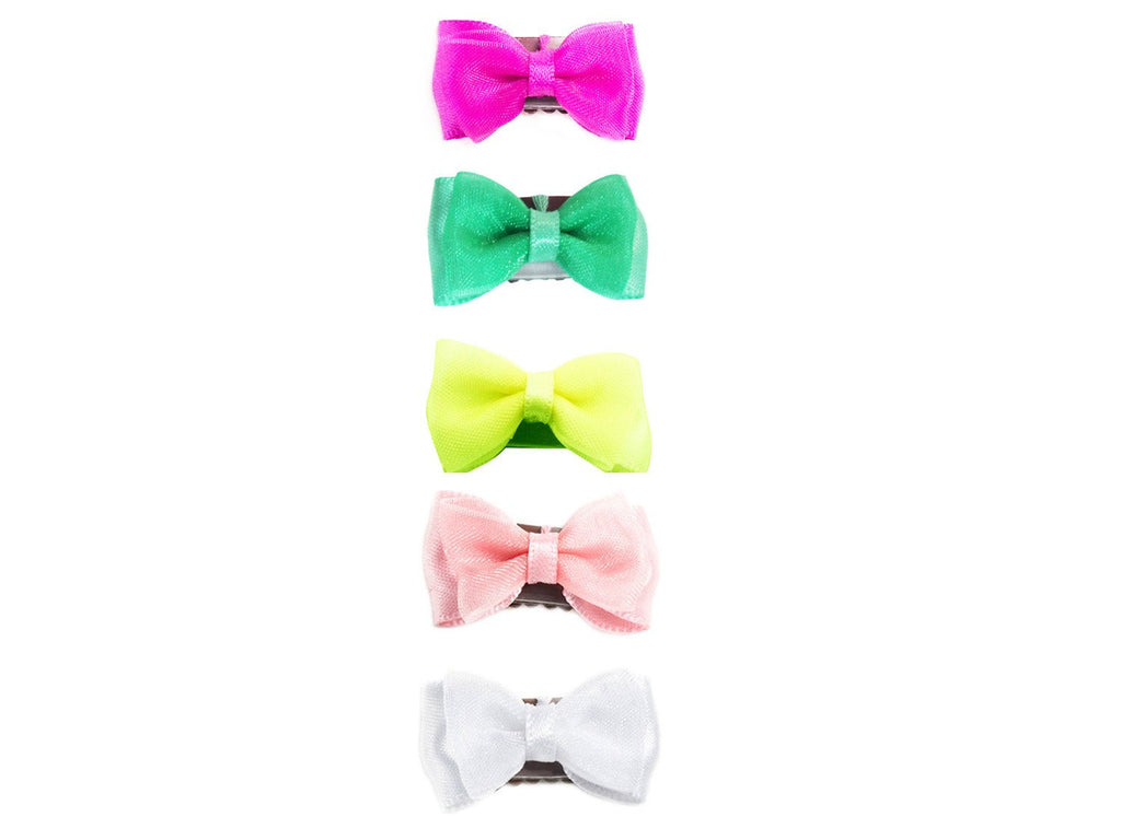 Mini Latch Fancy Bow Collection - Baby Wisp - Sweetie pie baby hair bows