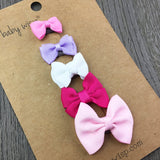 Mini Latch Baby Girl Hair Bow Collection - Baby Wisp