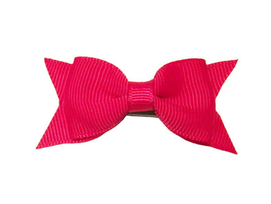 Mini Latch Cadeau Bow - Fuchsia - Baby Wisp