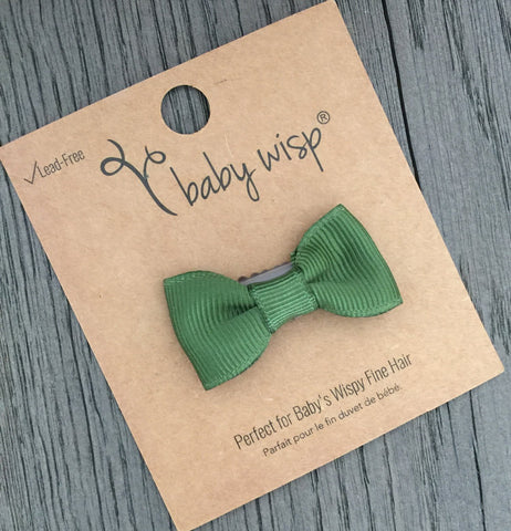 Spring Charlotte Bows - Mini Latch Wisp Clips - Baby Wisp