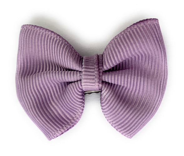 Mini Latch Classic Bow - Dusky Mauve - Baby Wisp