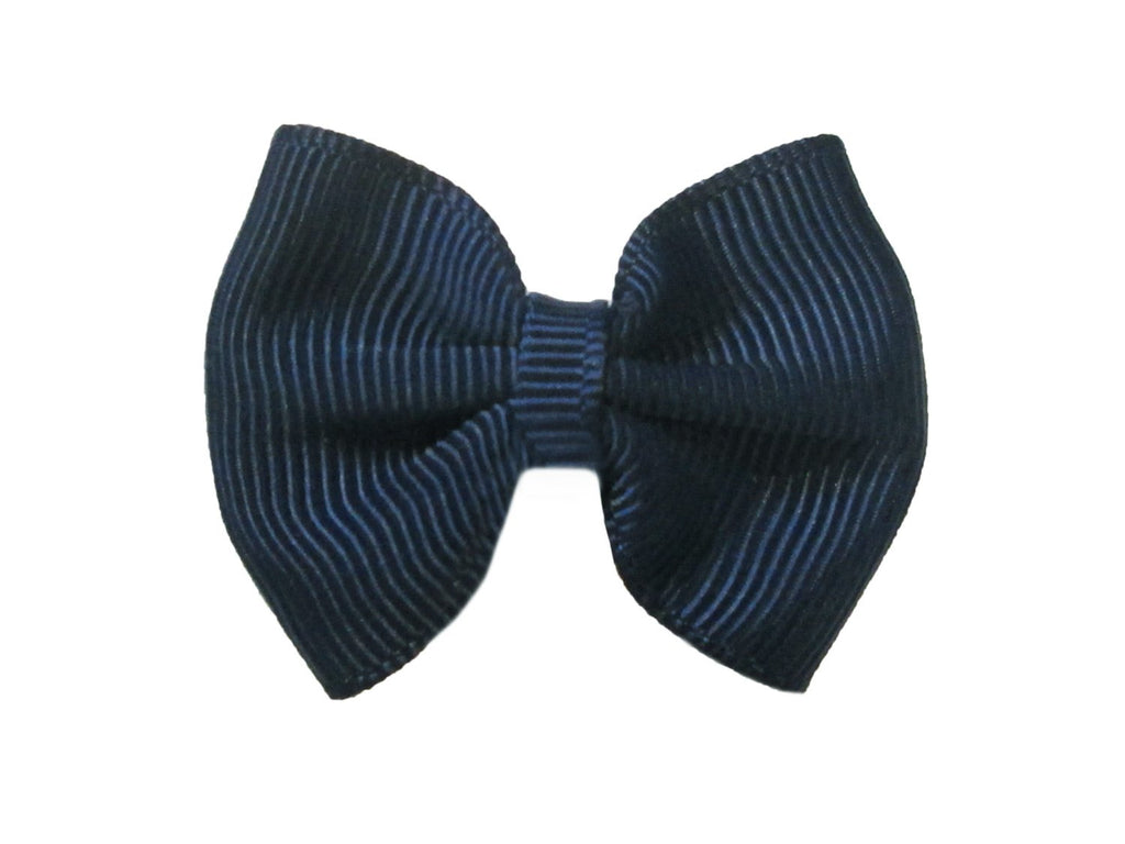 Mini Latch Classic Bow - Navy - Baby Wisp
