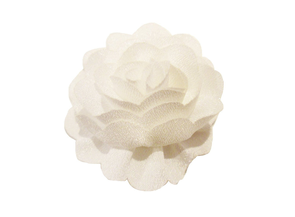 Mini Latch Dahlia Flower Clip - Baby Wisp